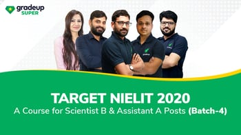 Target NIELIT 2020: A Course for Scientist -'B' & Assistant -'A' Posts