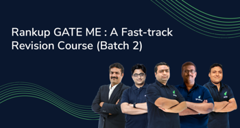 Rankup GATE ME : A Fast-track Revision Course