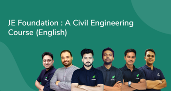 JE Foundation : A Civil Engineering Course