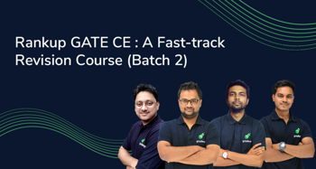 Rankup GATE CE : A Fast-track Revision Course