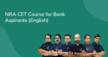 NRA CET Course for Bank Aspirants