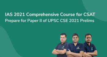 IAS 2021- comprehensive course for CSAT