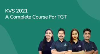 KVS 2021: A Complete Course for TGT