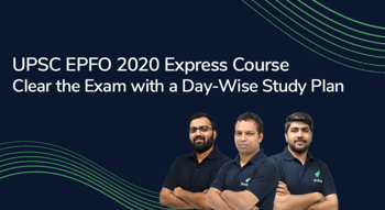 UPSC EPFO 2020 Express Course