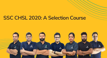SSC CHSL 2020: A Selection Course
