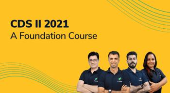 CDS II 2021: A Foundation Course
