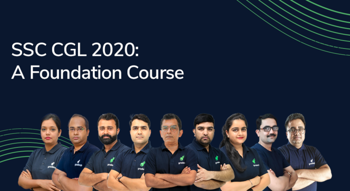 SSC CGL 2020: A Foundation Course
