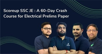 Scoreup SSC JE : A Crash Course for Electrical Engineering