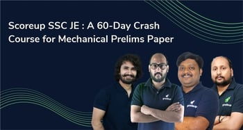 Scoreup SSC JE : A 60-Day Crash Course for Mechanical Paper-1(English)