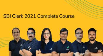 SBI Clerk 2021 Complete Course