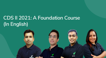 CDS II 2021: A Foundation Course in English