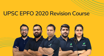 UPSC EPFO 2020: A Revision Course