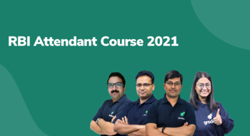 RBI Attendant Course 2021