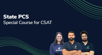 State PCS 2021 Special course for CSAT