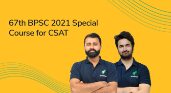 67th BPSC 2021 Special course for CSAT