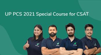 UPPCS 2021 Special course for CSAT