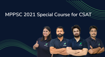 MPPSC 2021 Special course for CSAT