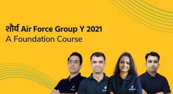 शौर्य Air Force Group Y 2021: A Foundation Course