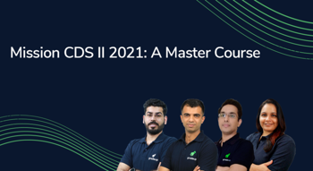 Mission CDS II 2021: A Master Course