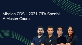 Mission CDS II 2021 OTA Special: A Master Course