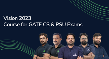 Vision 2023 : A Course for GATE Computer Science Aspirants