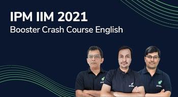 IPM IIM 2021 Booster Crash Course