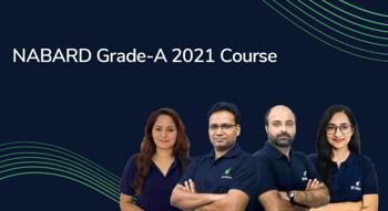 NABARD Grade-A 2021 Course