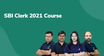 SBI Clerk 2021 Course
