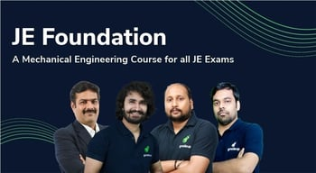 JE Foundation : A Mechanical Engineering Course