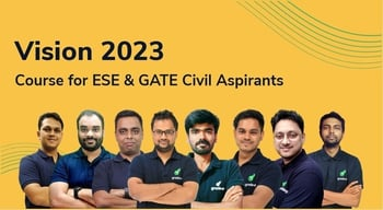 Vision 2023 : A Course for ESE & GATE Civil Aspirants