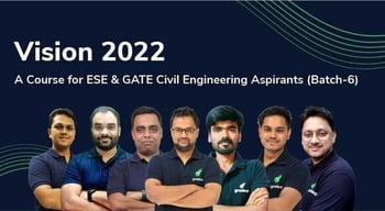 Vision 2022 : A Course for ESE & GATE Civil Aspirants