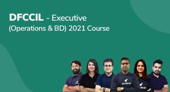 DFCCIL - Executive (Operations & BD) 2021 Course