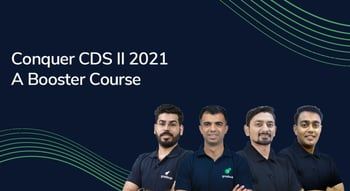 Conquer CDS II 2021: A Booster Course