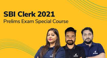 SBI Clerk 2021 Prelims Exam Special