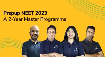 PrepUp NEET 2023: A 2-Year Master Program