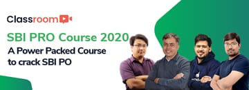 SBI PO Course 2020