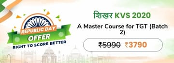 शिखर KVS 2020: A Master Course for TGT (Batch 2)