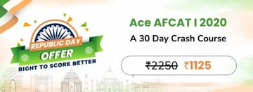 Ace AFCAT I 2020: A 30 Day Crash Course