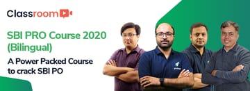 SBI PRO Course 2020 Bilingual