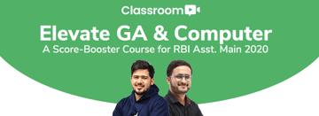 Elevate GA & Computer  A Score Booster Course